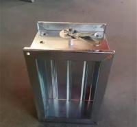 消防排烟防火阀 70℃镀锌电动防火阀 方形风管消防阀