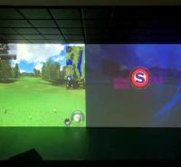迈哈沃模拟球场 室内高尔夫超清画质真实体验