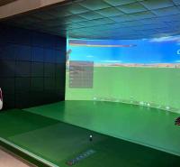 迈哈沃高尔夫模拟设备 环幕多屏模拟高尔夫