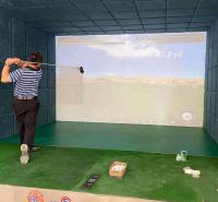 迈哈沃高尔夫练习器具 高尔夫模拟真实场景