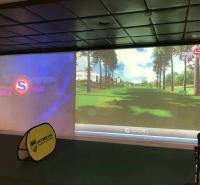 迈哈沃多屏高尔夫模拟球场 模拟高尔夫设备
