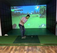 迈哈沃室内模拟球场 高清超大屏幕布