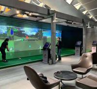 迈哈沃室内模拟球场 韩国进口赛事级高尔夫模拟器