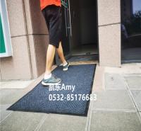 防滑擦鞋垫 防霉植绒垫 橡胶底植绒垫  防尘吸水压花门垫