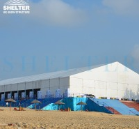 赛尔特定制商用铝合金篷房 科研合作成果展览会 会展大棚厂家直供