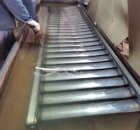 生产钢制柱式散热器  壁挂式低碳钢二柱暖气片 家用暖气片 欢迎来电咨询创新实体厂家