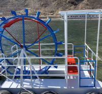 水上脚踏船  水上观光船 网红脚踏船