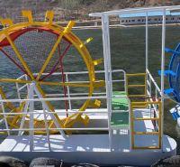 水上脚踏船 小型水上脚踏船 公园水上脚踏船