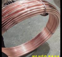 河北厂家生产 铜包钢圆线 新疆防雷镀铜圆钢 铜包钢防雷接地线 防雷接地装置