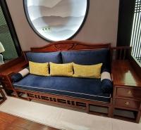 刺猬紫檀鸿运当头沙发  红木沙发价格