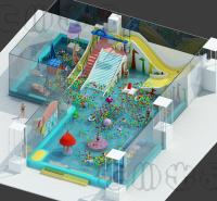 亲子水上乐园项目建造  恒温水上乐园滑梯安装 汇川环保科技