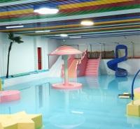 室内水寨安装  儿童水上滑梯施工 恒温水上乐园设备维修