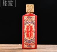 厂家直销喷涂酒瓶 郓城富兴酒类包装