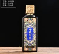 异形瓶 厂家生产 郓城富兴酒类包装