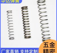 华达弹簧 弹簧 不锈钢压缩弹簧 压力不锈钢弹簧 型号齐全