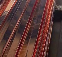接地铜扁铁 电镀铜扁带 接地母线铜包钢 接地干线镀铜扁钢 锴盛现货供应