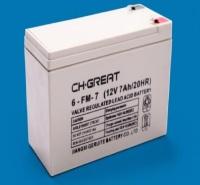 正品销售CH.GREAT格瑞特蓄电池6-FM-7 包邮格瑞特蓄电池12V7AH