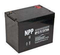 NPP耐普胶体蓄电池NPG12-70 12V70AH 电力医疗/UPS/监控系统电信医疗设备太阳能路