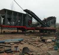 组合式移动破碎机 安徽三石 组合式  300t 市场供应 泥石分离机