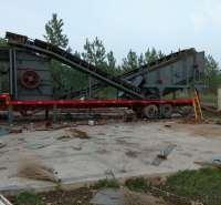 组合式移动破碎机 安徽三石 框架式 10-800mm 厂家 泥石分离机