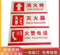家用电器亚克力面板 警示标牌 亚克力门牌 楼道标志标牌 定制