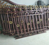 山东铝合金护栏  小区护栏  铝艺护栏加工