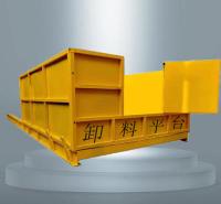 工地施工升降式卸料平台  永邦销售   伸缩小型卸货平台   云南   高楼层建筑装卸材料的周转平台