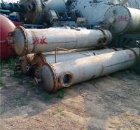 厂家直销 不锈钢列管式冷凝器40平方二手换热器
