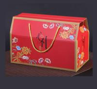 可加印logo传统节日礼盒包装盒过节礼品盒手提袋水果熟食空盒厂家直销支持定制