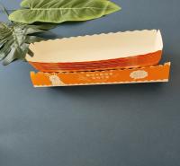 芝士拉丝热狗棒包装盒子外卖热狗盒长方形一次性船盒蛋包肠打包盒厂家直销支持定制