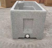 冀洁供应 玻璃钢花盆 定制户外商场道路花盆 支持定制玻璃钢花箱 来电报价