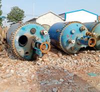 厂家供应搪瓷反应釜 二手搪瓷反应釜化工厂反应加工设备