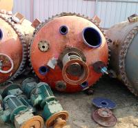 厂家供应搪瓷反应釜 6.3立方二手搪瓷反应釜化工厂反应加工设备