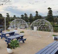 出口澳洲4米透明球形帐篷 网红楼顶景观餐厅酒店 栖星厂家直销