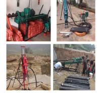 陕西中拓出售支架式电动潜孔钻机机械效率高成本低性能稳定