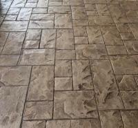 水泥印花地面价格 压模地坪厂家 压模砼施工工艺 晶邦新材料