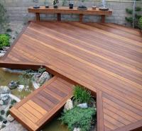 碳化防腐木木地板 防腐木木地板厂家 适用范围广