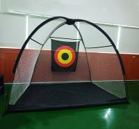 帐篷式高尔夫球练习网 户外切杆挥杆练习网 高尔夫集球网