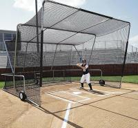 棒球练习网 垒球练习网 移动式棒球网