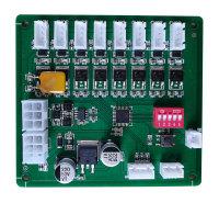 JZ-ZNG-V008智能柜锁控板存包柜锁板快递柜控制板8路锁控板