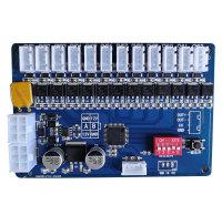 JZ-ZNG-V012智能柜锁控板存包柜锁板快递柜锁板12路锁控板
