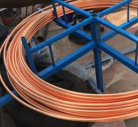 风力发电接地材料 镀铜扁带 镀铜圆钢厂家 光伏接地铜包钢圆钢 锴盛循环生产