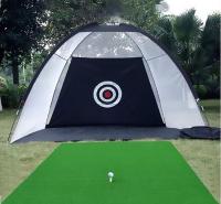 户外帐篷式高尔夫练习网 切杆 挥杆练习网 高尔夫集球网