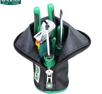 老A(LAOA)9件套家装工具套装 钢丝钳活动扳手螺丝刀剥线钳 维修工具组套 LA105109