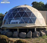 冬季户外保温球形帐篷酒店 新型防潮材料pvc篷布 shelter球形帐篷