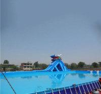 郑州移动游泳水池厂家  充气水池滑梯 厂家直销 价格优惠