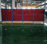 固定式防护焊接屏 电焊防护屏 厂家直销
