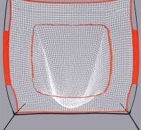 棒球练习网 锦纶棒球练习网 练习网厂家定制