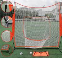 户外击球训练网 青少年室内平面投手接球网 棒球练习网销售
