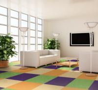 巨东地毯纯色办公工尼龙防火阻燃地毯方块拼接地毯